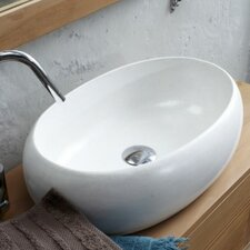 Orion Countertop Basin in White