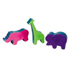 LP RhythMix 3-Piece Animal Shaker Set