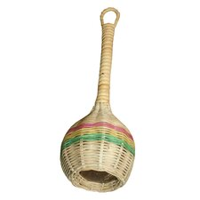 Coconut Rattan Shaker with Handle