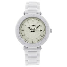 Ceramic Women's Watch in White