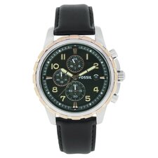 Classic Men's Watch in Black