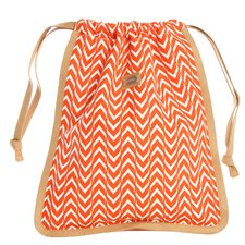 <strong>Ame & Lulu</strong> Drawstring Shoe Bag