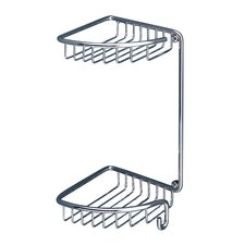 Oltre Double Corner Shower Caddy