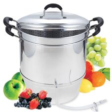 Cook N Home 11 Quart Aluminum Juicer Steamer