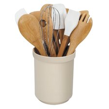 15 Piece Bamboo Utensil Set
