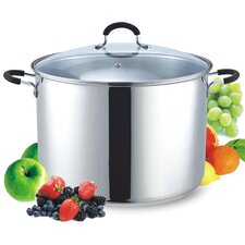 <strong>Cook N Home</strong> Stainless Steel Canning Pot and Stockpot with Lid