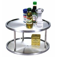 <strong>Cook N Home</strong> 2 Tier Stainless Steel Lazy Susan