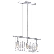 Vitoria 3 Light Kitchen Island Pendant