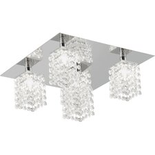 Pyton 5 Light Semi Flush Ceiling Light