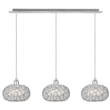<strong>EGLO</strong> Rebell 3 Light Kitchen Island Pendant