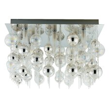 Morfeo 9 Light Semi Flush Ceiling Light