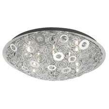 <strong>EGLO</strong> Cromer 12 Light Flush Mount