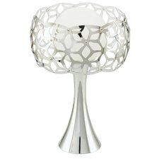 "Oxana 12.88"" H Table Lamp with Drum Shade"