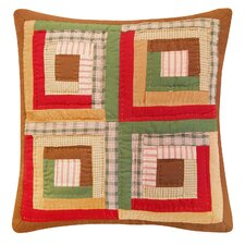 Oak Ridge Stripes Pine Pillow