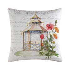 Garden Folly Cotton Accent Pillow