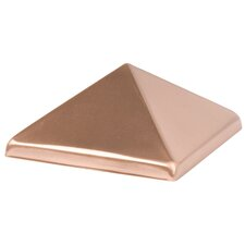 Copper Pyramid Post Cap