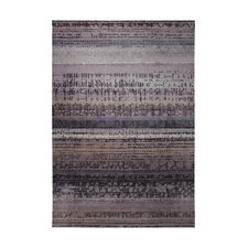 Graphic Edge Taupe Woven Rug