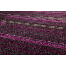 Urban Senses Berry / Brown Contemporary Rug