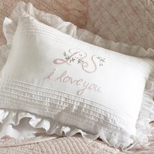 P.S. I Love You Boudoir Throw Pillow