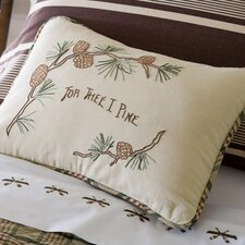 <strong>Taylor Linens</strong> Pine for Thee Boudoir Pillow