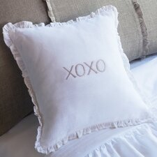 XOXO Linen Toss Pillow