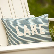 <strong>Taylor Linens</strong> Montauk Lake Pillow