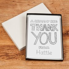 <strong>Signature Gifts</strong> Personalized Thank You Card Set