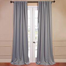 Plush Blackout Curtain Panel Pair