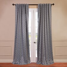 Aegean Blackout Curtain Single Panel