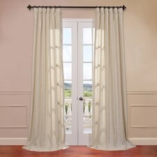 Grenada Linen Blend Stripe Curtain Single Panel