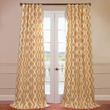 Medina Printed Cotton Curtain Single Panel