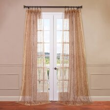 Esparanza Embroidered Sheer Curtain Single Panel