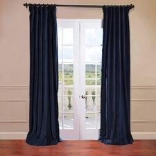 Vintage Cotton Velvet Curtain Single Panel