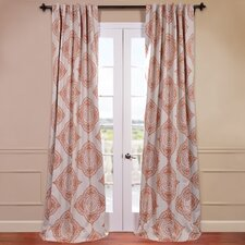 Henna Blackout Curtain Single Panel