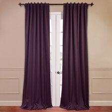 Plush Blackout Curtain Panels