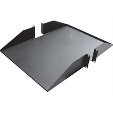 "18""-25""D 1 Piece Double-Sided Non-Vented Shelf - 2 RU"