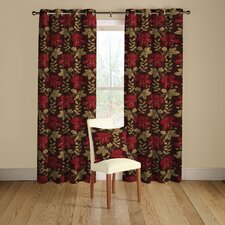 Mimosa Lined Curtains with Eyelet Heading