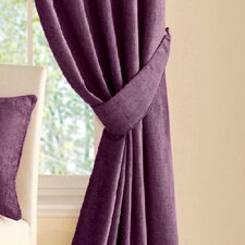 Vogue Pair of Tiebacks in Aubergine