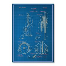 <strong>Americanflat</strong> Adjustable Golf Club Print