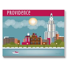 Providence Graphic Art on Canvas