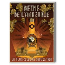 Rein De Lamazone Vintage Advertisement on Canvas