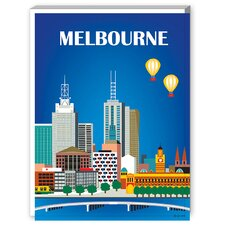 Melbourne Graphic Art on Canvas