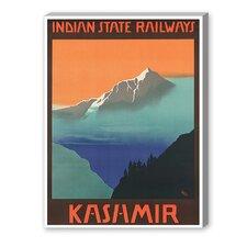 Kashmir Vintage Advertisement on Canvas