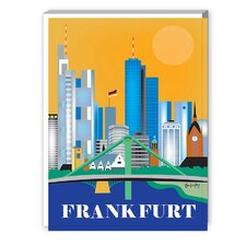 Frankfurt Graphic Art on Canvas