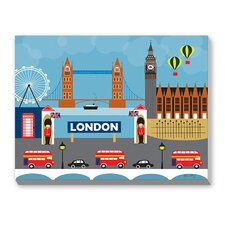 London II Graphic Art on Canvas