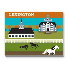 Lexington Graphic Art on Canvas