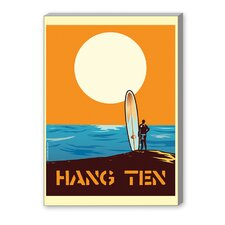 Hang Ten Graphic Art on Canvas