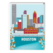 Houston Graphic Art on Canvas