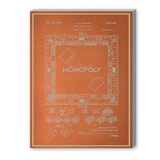 Darrow Monopoly Graphic Art on Canvas