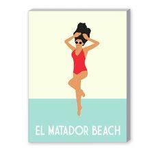 El Matador Beach Graphic Art on Canvas
